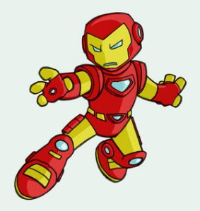 iron man kid